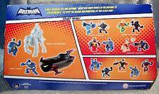 BATMAN ACTION LEAGUE 2008 BATMAN VS CLOCK KING WITH BATMOBILE SET