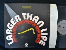 Crowbar Paramount 7002 Larger Than Life UK Pressing