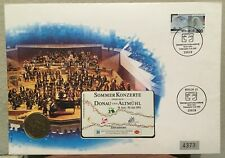 Rare Germany FDC 1993 Telefonkarte Sommer Konzerte phonecard coin stamp Unused