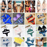 Sexy Bikini Set Women Swimwear Push-up Padded Bandage Bra Swimsuit Bathing Suit