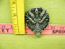 Dragon With Horns Belt Buckle
