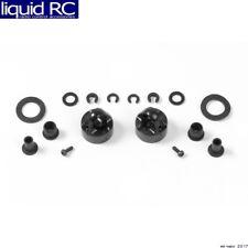 Xray 368051 aluminum shock cap-nut with vent hole 2