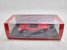 New 1:43 Spark Car Model Abarth 2000 Sport Spider 1968 S1329
