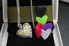 Perfume | Aroma |Scent Heart Locket Necklace