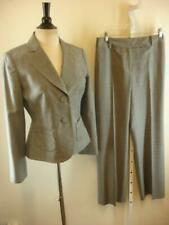Womens sz 2 Ann Taylor Gray Plaid Tweed 2-Pc Suit Audrey Pants 27 X 31 Business