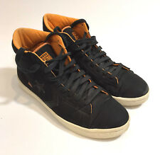 CONVERSE 8.5 HI TOP UNDEFEATED BLACK /ORANGE lining Sneaker Shoes