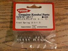 VZ072-3517 Front Spring (3.5 - 1.7) - Kyosho V-One VOne