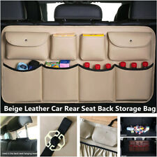 Large Capacity Car Rear Seat Back Storage Bag Multi Pocket Interior Accessories