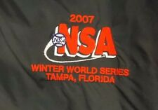 2007 NSA Windbreaker Soccer Winter World Series Tampa Pull Over Men's Sz 2XL