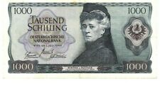 +++ATS 1.000,--, Bertha von Suttner, Schilling - Banknote von 1966