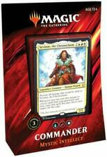 Magic the Gathering Commander 2019 Mystic Intellect Blue/Red/White Deck - Sealed