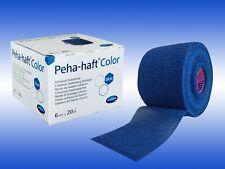 Peha-haft color blau 6cm x 20m latexfrei kohäsive, elastische Fixierbinde