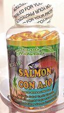Omega 3 6 9 capsules CON ACEITE SALMON y Ajo- OMEGA 3 6 9 SALMON Oil & Garlic
