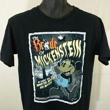 Mickey Mouse T Shirt Bride of Mickenstein Monster Black Horror Mens Sz S EUC