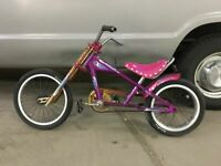 Schwinn Stingray Bike OCC Chopper purple