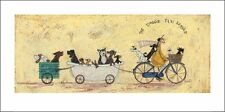 SAM TOFT (THE DOGGIE TAXI SERVICE) Cat No: PPR41142  ART PRINT  50 x 100cm