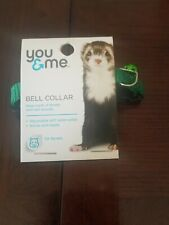 You & me Bell Collar Green for ferrets