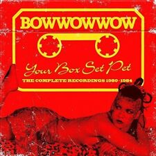 Bow Wow Wow - Your Box Set Pet: Complete Recordings 1980-1984 [New CD] Boxed Set