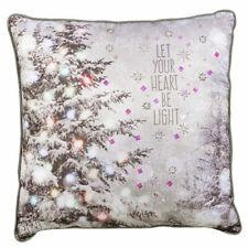 Grasslands Road Christmas Holiday Throw Pillow - 472986D MFR DEFECT