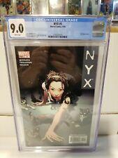 NYX #5 CGC 9.0  Marvel 2004 X-23 app