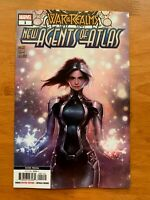 WAR OF REALMS NEW AGENTS OF ATLAS #1  2ND Print Variant Marvel 2019 NM+