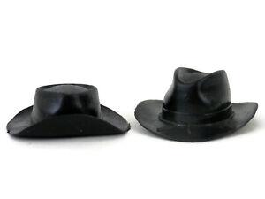 Vintage 70s Johnny West Civil War General Custer & Cavalry Hat & Belts  #55