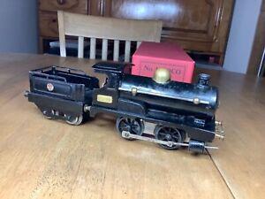 Hornby O Gauge early  Clockwork No.1 Black 0-4-0 Tender Loco 2710