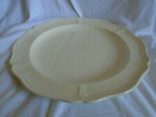 """WEDGWOOD QUEENS PLAIN LARGE ROUND SERVING PLATE 12 1/2"""" DIAMETER"""