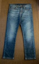 RARE,SOLD OUT!CHIC CURRENT IN FASHION NOW STRAIGHT LEG  GUCCI JEANS SIZE 42 W28
