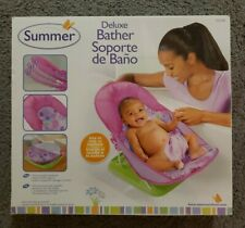 Summer Infant Deluxe Baby Bather Pink Dots New In Box