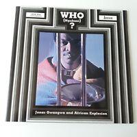 Jonas Gwangwa African Explosion - Who (Ngubani)? Vinyl Album LP Jazz Afrobeat