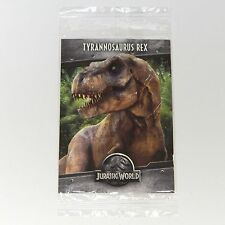 Jurassic World Tyrannosaurus Rex Pizza Promo Collectible Trading Card Park T-Rex