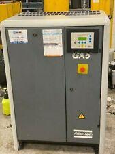 ATLAS COPCO GA5 5kw 29cfm 7.5bar 3 PHASE GARAGE SCREW TYPE QUIET AIR COMPRESSOR