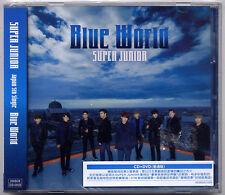 Super Junior: Blue World (2013) Korea Japan / CD & DVD TAIWAN