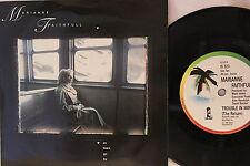 Marianne Faithfull – As Tears Go By - Single 1987 UK - Island Records IS 323