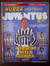 Hurrà Juventus n°7-8 1992 Fabrizio Ravanelli Dino Baggio Gianluca Vialli   [C80]