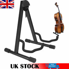 More details for a-frame adjustable fold cello stand support musical instrument accessory