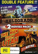 Roy Rogers HELDORADO & John Wayne THE MAN FROM UTAH - DOUBLE FEATURE WESTERN DVD