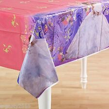 ENCHANTED PLASTIC TABLE COVER ~ Disney Princess Birthday Party Supplies Decorate