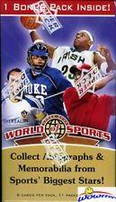 2010 Upper Deck World Of Sports Sealed Blaster Box-Look for Michael Jordan AUTO