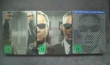 BLU-RAY  MEN IN BLACK 1 / 2 / 3 TRILOGIE STEELBOOK (MIB) - NEU & OVP