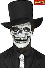 Halloween Foam Latex Skeleton Face Prosthetic
