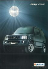 SUZUKI JIMNY 1.3 speciale estate Limited Edition 2002 UK Opuscolo Vendite sul mercato