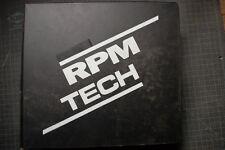 RPM TECH Model B HS Snowblower Operator Service Repair Parts Manual book catalog