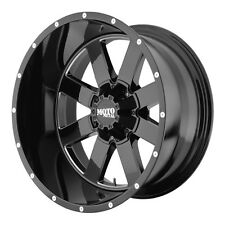 MOTO METAL MO962 MO96221268344N 20X12 -44MM OFFSET 6X5.5 G-BLACK MACH SINGLE RIM