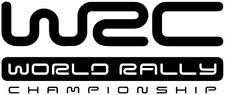 WRC World Rally Championship stickers, decals, x2