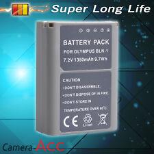 1350mAh BLN1 Battery Olympus E-M5 E-M1 II OM-D Mark Pen E-P5 BLN-1 Z