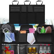 Car Back Seat Tidy Organiser Travel Kid Storage Bag Multi-Pocket