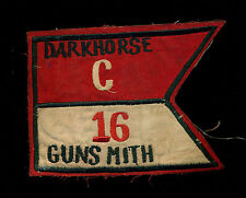 US Army C Company 16th Air Cavalry Darkhorse Gunsmith Vietnam Patch S-24A