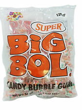 Albert's Super Big Bol Candy Bubble Gum 37 Oz. (120 Gum, Bag)